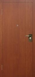 Металлические двери с наружной петлей