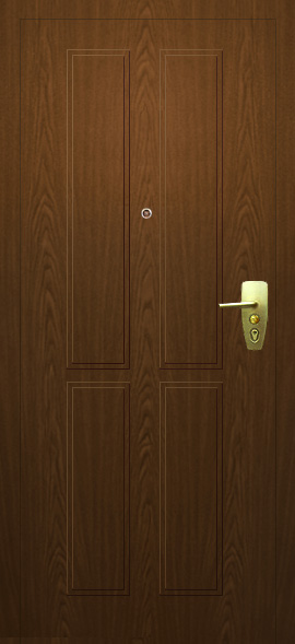 стальная дверь цвет металлик