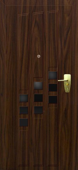 входные двери цвет металлик